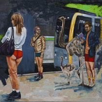 Monday | Oil on canvas | 110 x 120cm | 2017