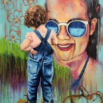 Sorriso | Oil on canvas | 124 x 104cm | 2017