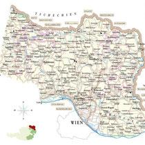 Riedenkarte Weinviertel - ÖWM/Photograph