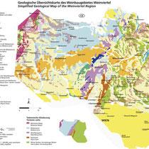 Geologische Karte Weinviertel - ÖWM/Photograph