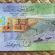 Siria 1000 libras 2013 anverso