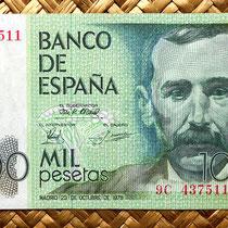 España 1000 pesetas 1979 anverso