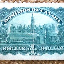 Canadá 1 dólar 1898 -Dominion of Canada reverso