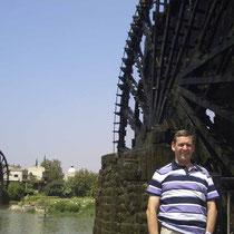 Norias en Hama