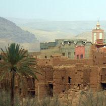 Minarete y kasbah de Tinerhir