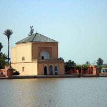 Pabellón y alberca de La Menara -Marrakech