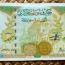 Siria 1000 libras 1997 anverso