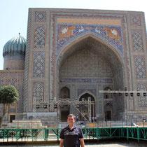 Madrasa Sher Dor del Registan -Samarkanda (Uzbekistan)
