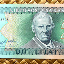 Lituania 2 litu 1993 anverso