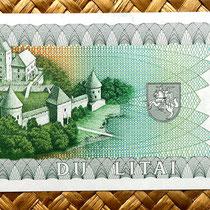 Lituania 2 litu 1993 reverso