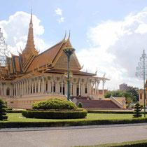 Palacio Real -Salón del Trono de Phnon Penh