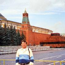 Torre Senastkaia y Senado junto a plaza Roja -Moscú