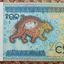 Uzbekistan 200 som 1997 reverso