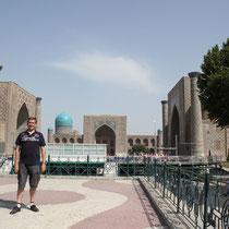 El Registan -Samarkanda (Uzbekistan)