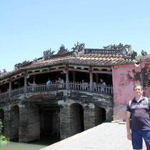 desde el Puente Japonés -Hoian