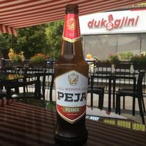 Peja - das Bier zur Stadt.