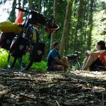 Puh. Nach so viel Emotionen erst mal die Ruhe im Wald genießen.