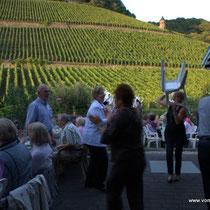 Weinprobe mit Feiern bis zur ausgelassenen Polonaise