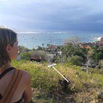 Point de vue sur Nusa Lembongan.