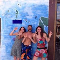 Alice et Maïlys ont brillament réussi leur open water!! Avec the best instructor de l'île!