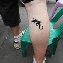 Tatouage au Henne