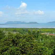 Vu depuis un des sommets de Koh Lanta.
