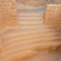 Une des piscines de Masada