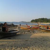 Long beach... avec la visite de ma cousine lors de son tour du monde