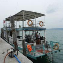 Bateau de plongee