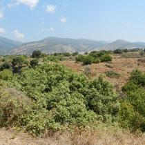 Vue sur la forteresse de Nimrod