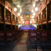 Royal theatre dans la citadelle. Nous avons manque le spectacle!