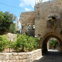Entree dans Jaffa