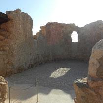 Eglise de Masada (il y avait aussi une Synagogue)