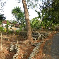 L'interieur de Nusa Lembongan