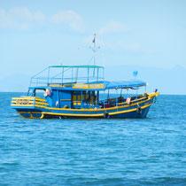 Wassana, le bateau qui nous a fait voyager pendant 3 jours