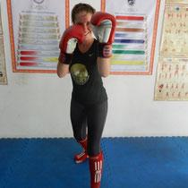Je m'inscris à un cours d'1H30 de Muay Thai.