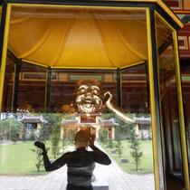 un buddha bien portant et riant! J'adore