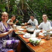 Barbecue avec 2 auvergnats: Audrey et Olivier