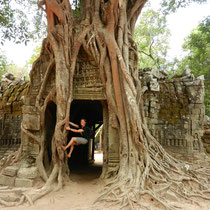 une des photos les plus connues de ce temple...