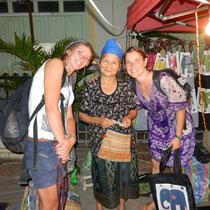Une vieille laotienne adorable!
