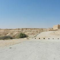 Vue sur les ruines de la cite