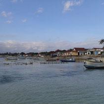Arrivee a Nusa Lembongan