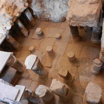 Systeme de chauffage au sol du Hamam
