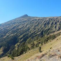 Mont Rinjani vu depuis la descente... on l'a fait!!!