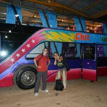 Depart en bus de nuit pour Pakse