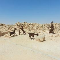 Souvenirs du peuple Nabateen et de leur vie dans la ville.