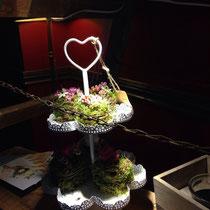 romantische Blumenarrangements von Unverblümt