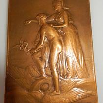 merdaille par Charles Pillet, banque Française du commerce extérieur 63 x 89 mm ,avec sa boite  .prix: 120 euros
