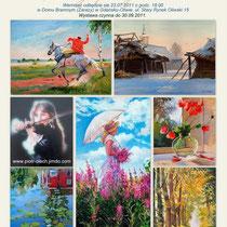 Wystawa 27 lipiec 2011, Austellung in Gdansk(Polen) 2011, Exhibition in Gdansk(Polen) 2011.