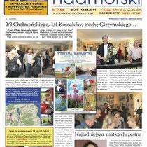 Nadmorski Raport, Gazeta Gdanska, Danziger Zeitung, ein Bericht von der Austellung in Gdansk 2011.